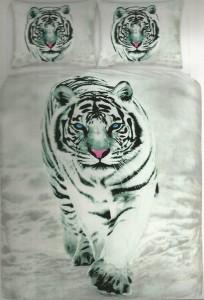 tijger grijs