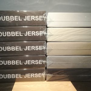 DUBBEL JERSEY hoeslakens